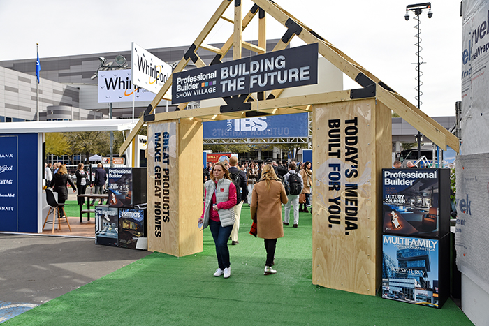 Professional Builder Show Village IBS