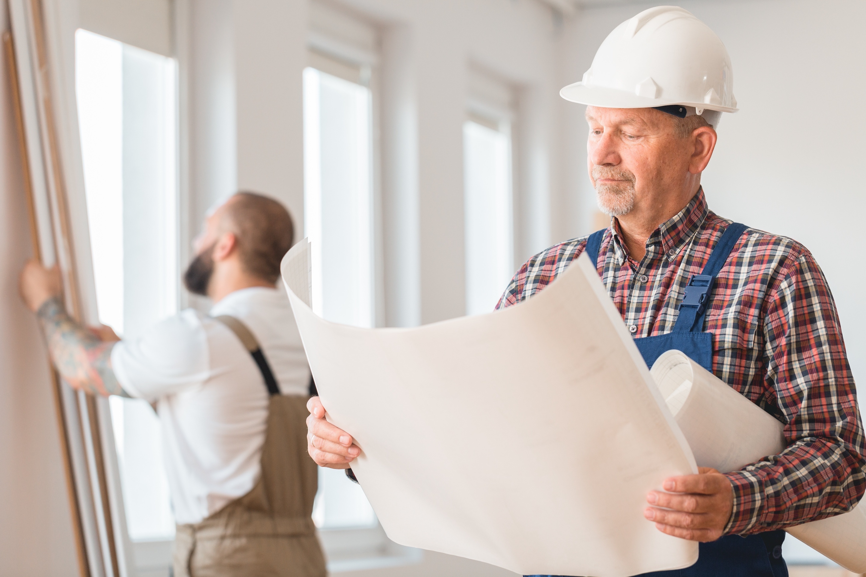 Building industry's aging workforce